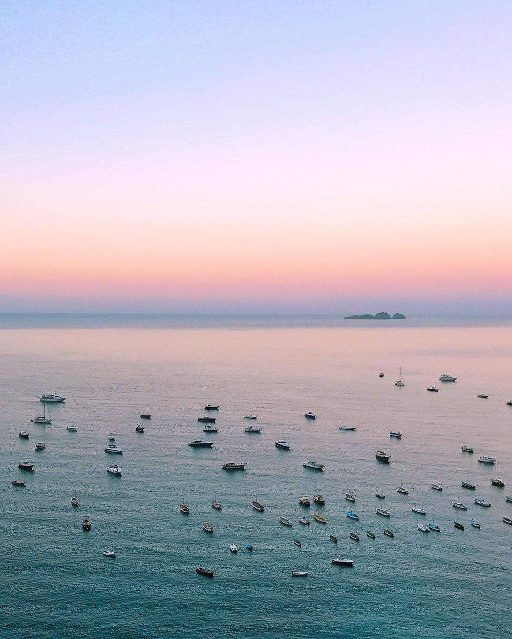 Sunrise in Positano