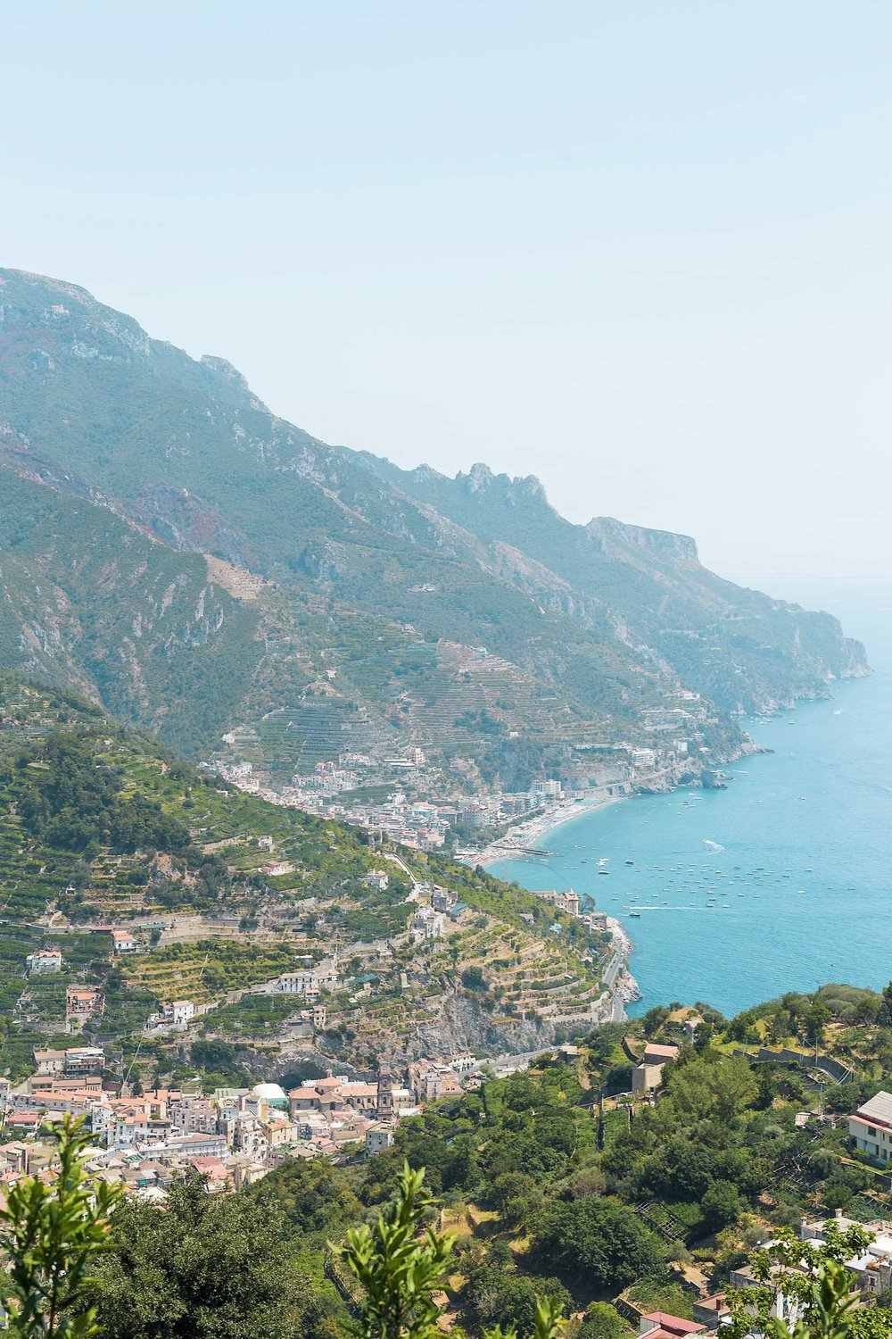 Views from a scooter ride around the Amalfi Coast