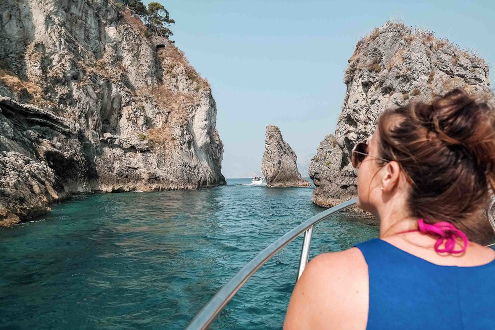 Go on a day trip to Capri when visiting the Amalfi Coast