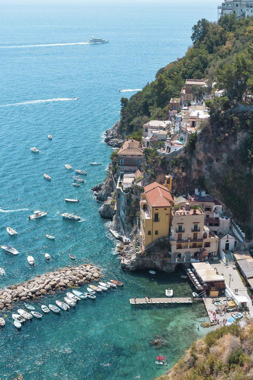 Beautiful Amalfi Coast views