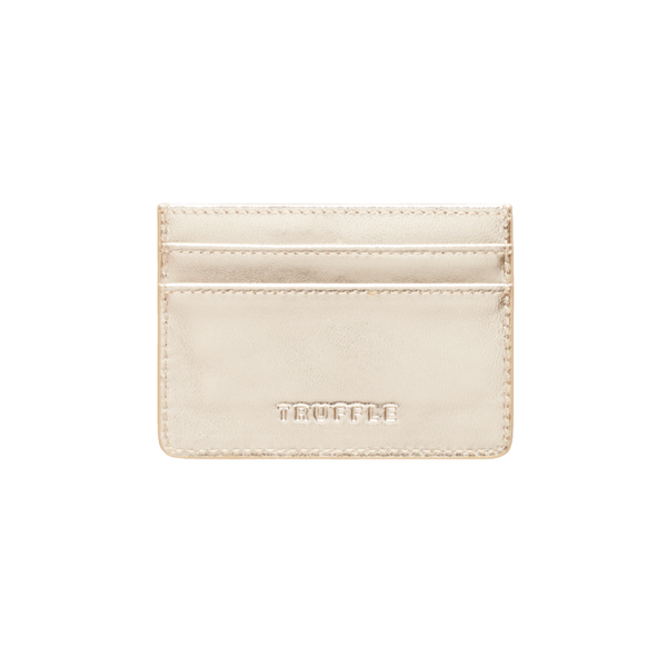 Truffle Privacy Leather Card Case