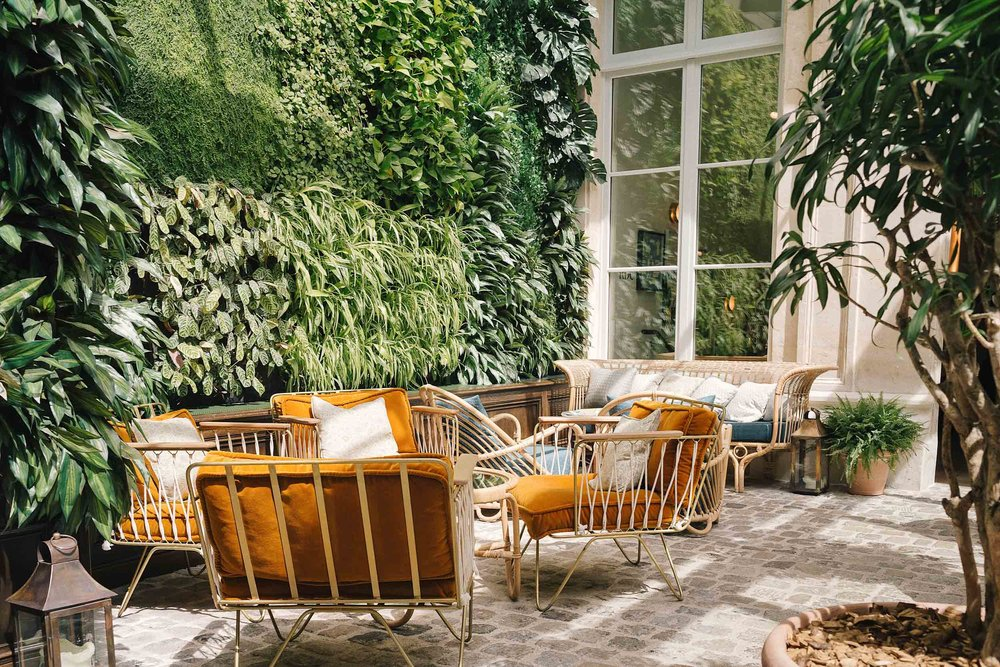 The Hoxton Paris is a very beautiful place to stay
