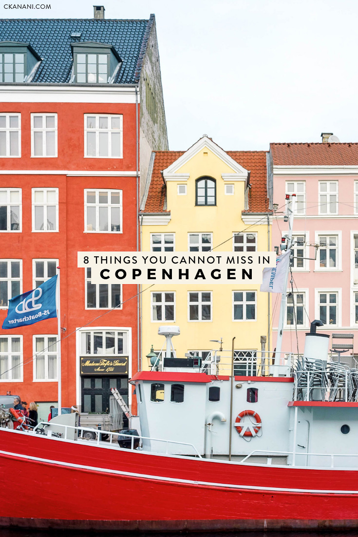 Heading to Denmark and looking for the perfect Copenhagen itinerary? Here are 8 things you can't miss! #copenhagen #denmark #travel #scandinavia #tripideas #itinerary #thingstodo