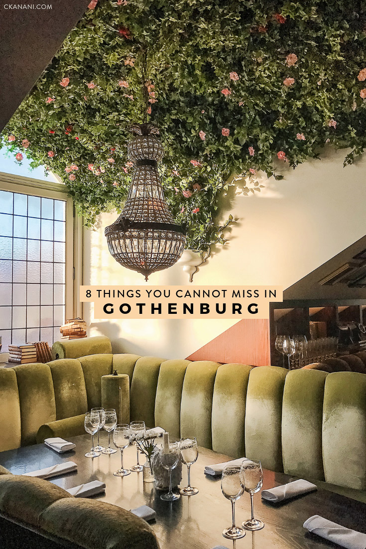 Heading to Gothenburg, Sweden and wondering what to do? I have narrowed down my list to 8 things you absolutely cannot miss! The best non-cliche, off-the-beaten-path things to see, do, eat, and drink.