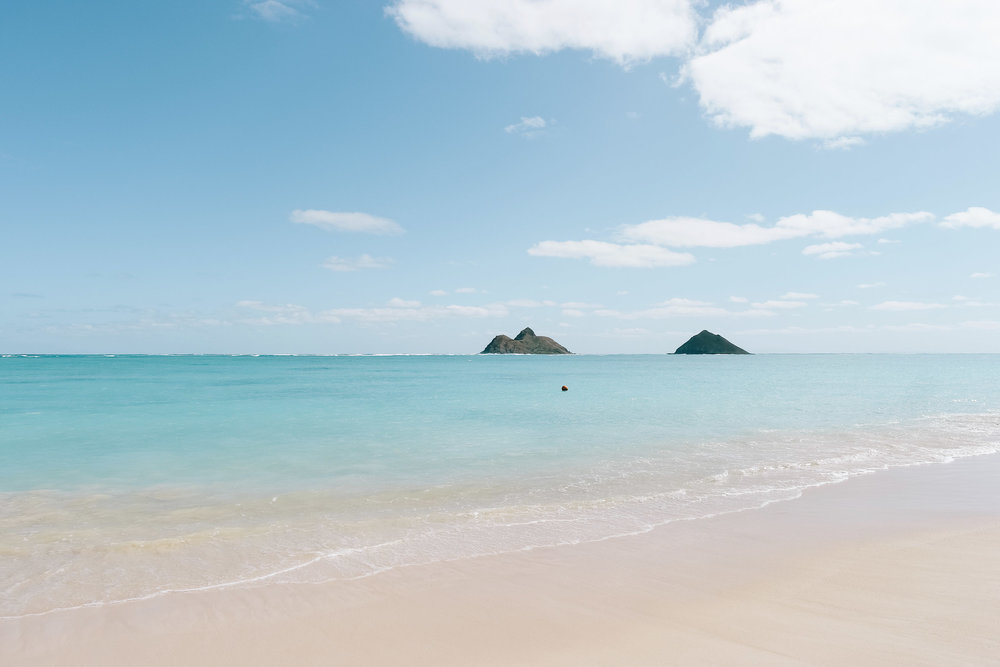 Pictures of Oahu - Lanikai Beach