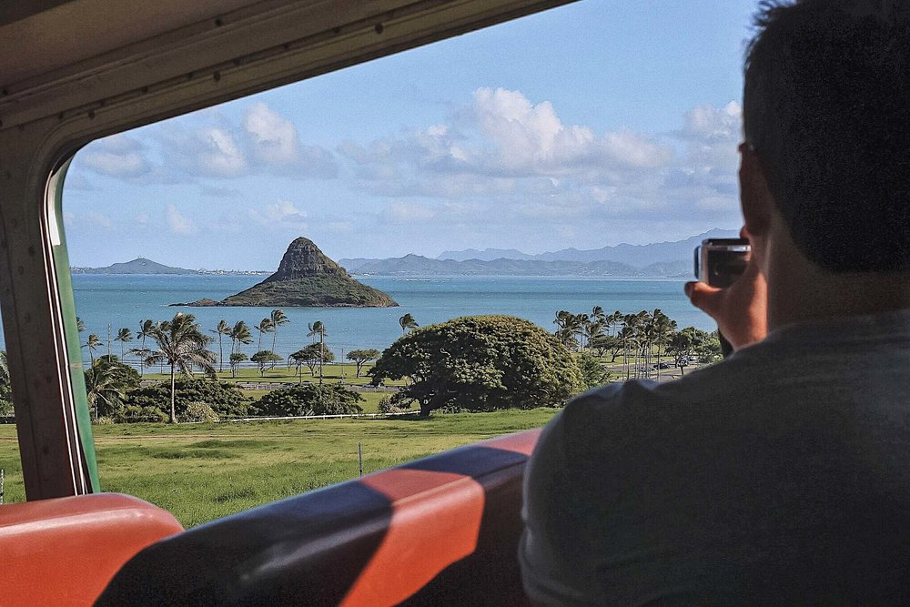 Kualoa Ranch where Jurassic Park and many other movies were filmed is one of the most photogenic spots on Oahu