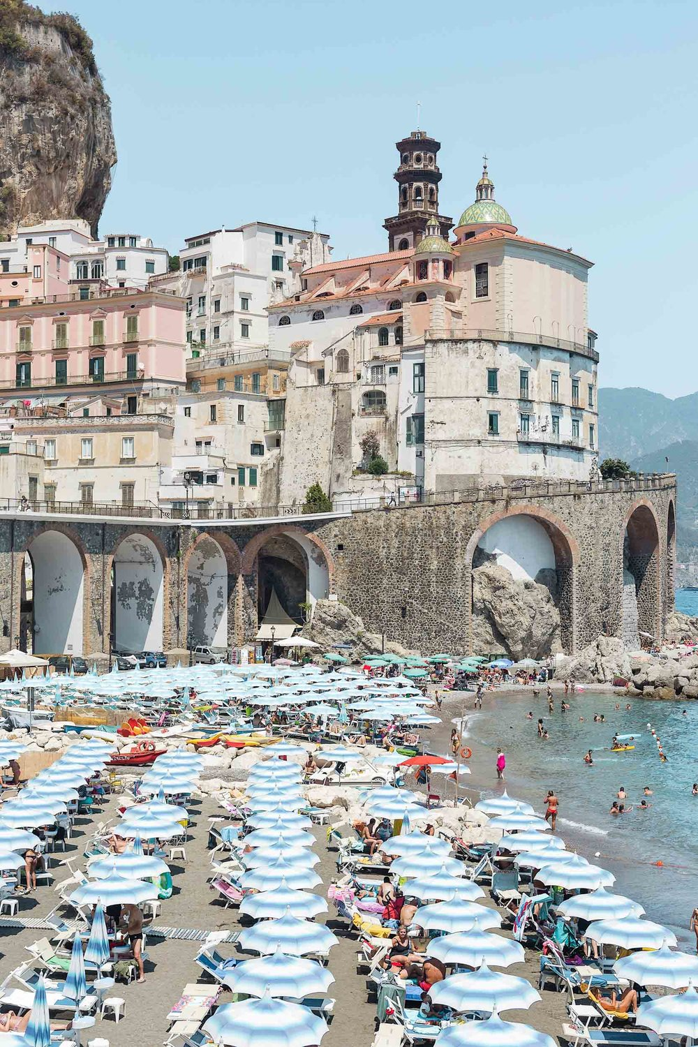 The best Amalfi Coast towns includes Atrani, the smallest town in Italy!