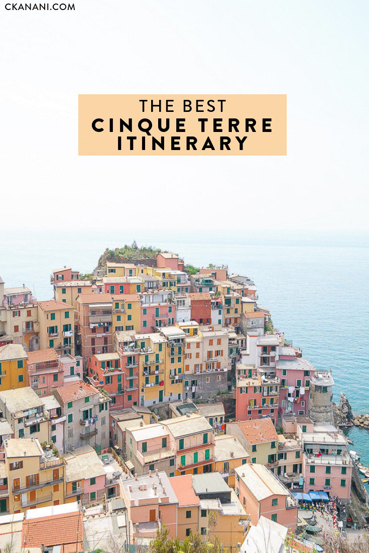 The best Cinque Terre itinerary: everything you need to plan your Italy trip! A guide to the 5 villages, where to stay, what to do, and more. #smalltowntravel #cinqueterre #italy