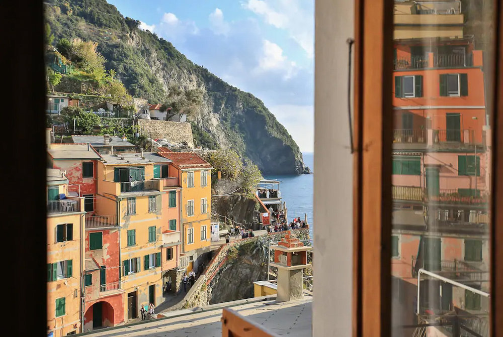 The most stunning views from this Cinque Terre accommodation