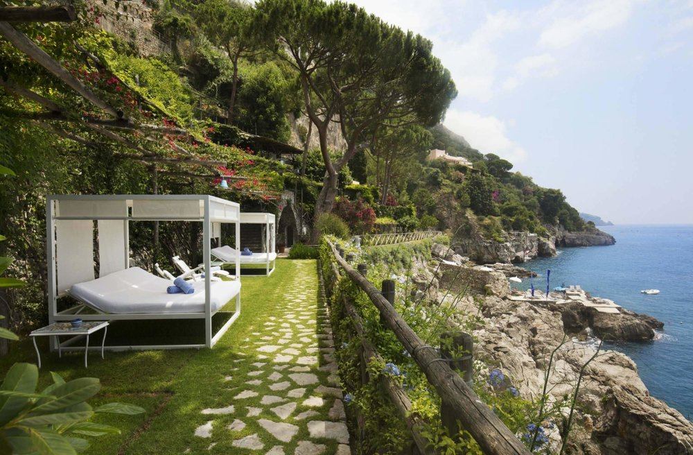 One of the best hotels in Positano Italy, Villa Treville