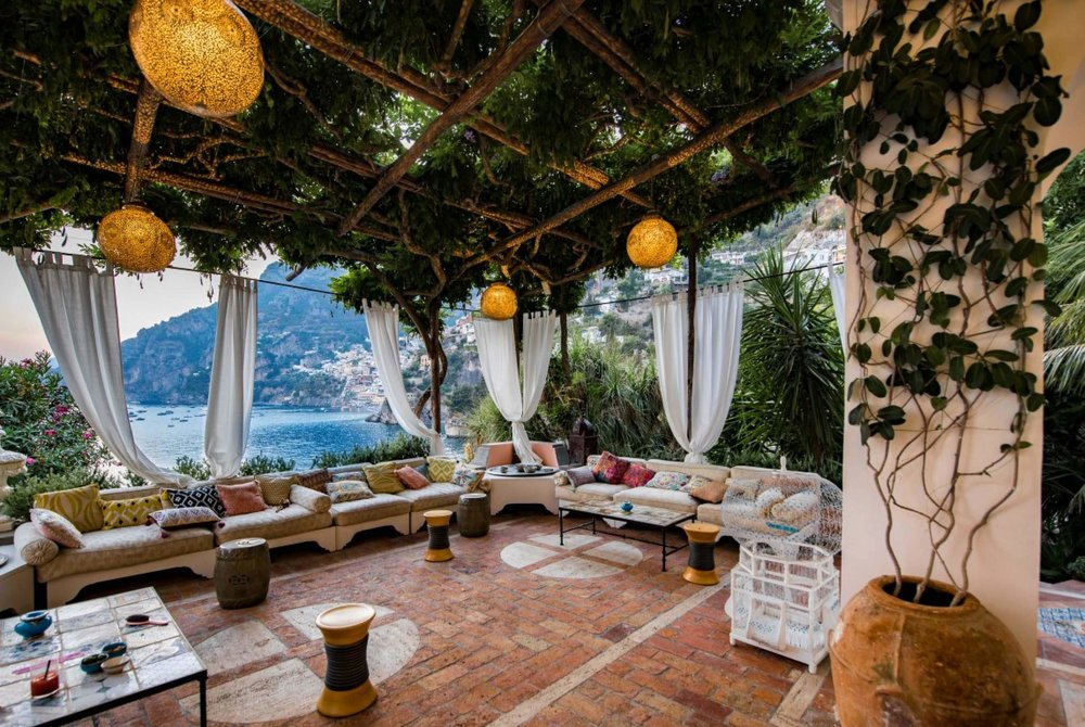 The best Amalfi Coast villas can be found at Villa Treville in Positano