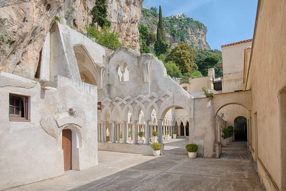 NH Collection Grand Hotel Convento di Amalfi is located in a historic 13th century monastery
