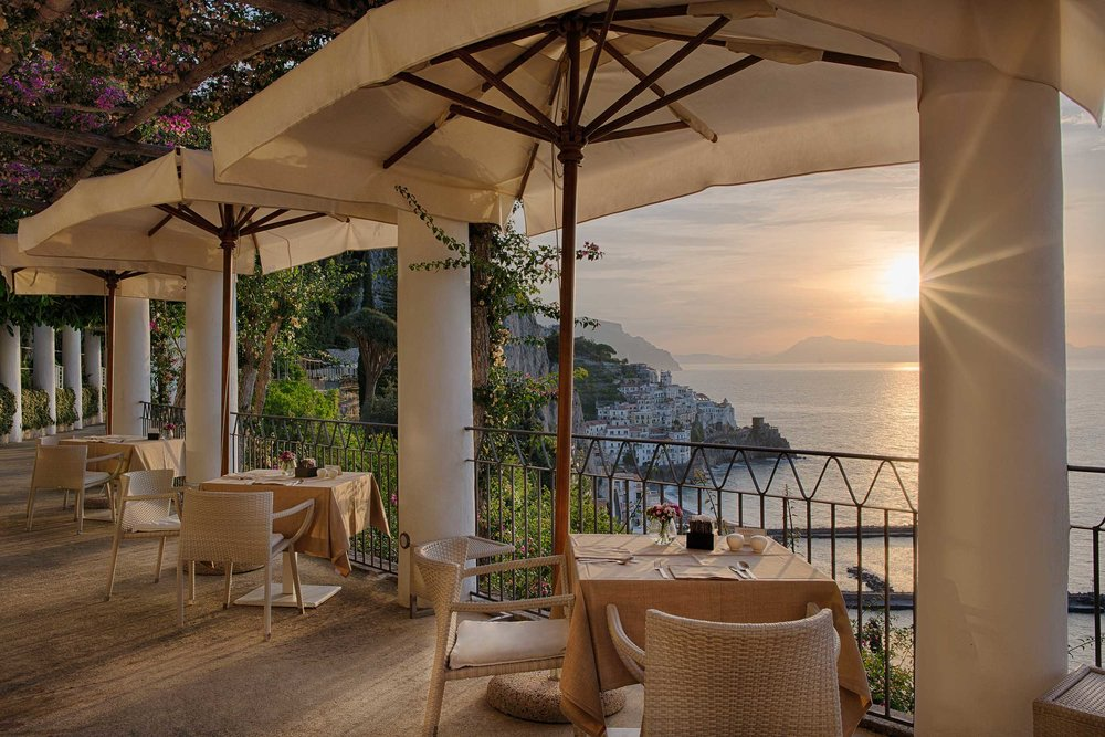 Dining at NH Collection Grand Hotel Convento di Amalfi