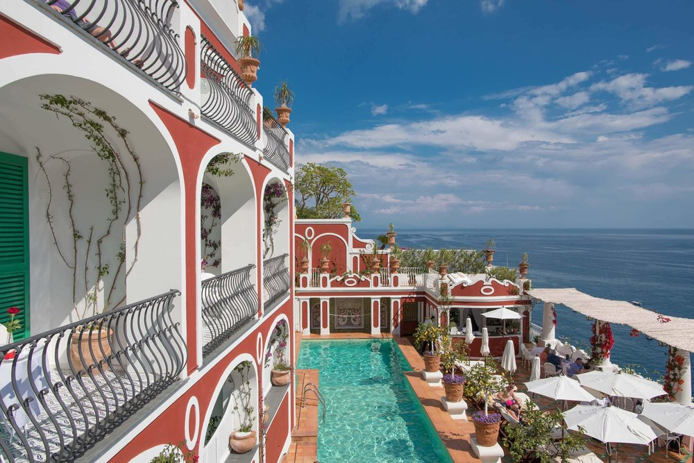 The best Positano hotel with pool - Le Sirenuse