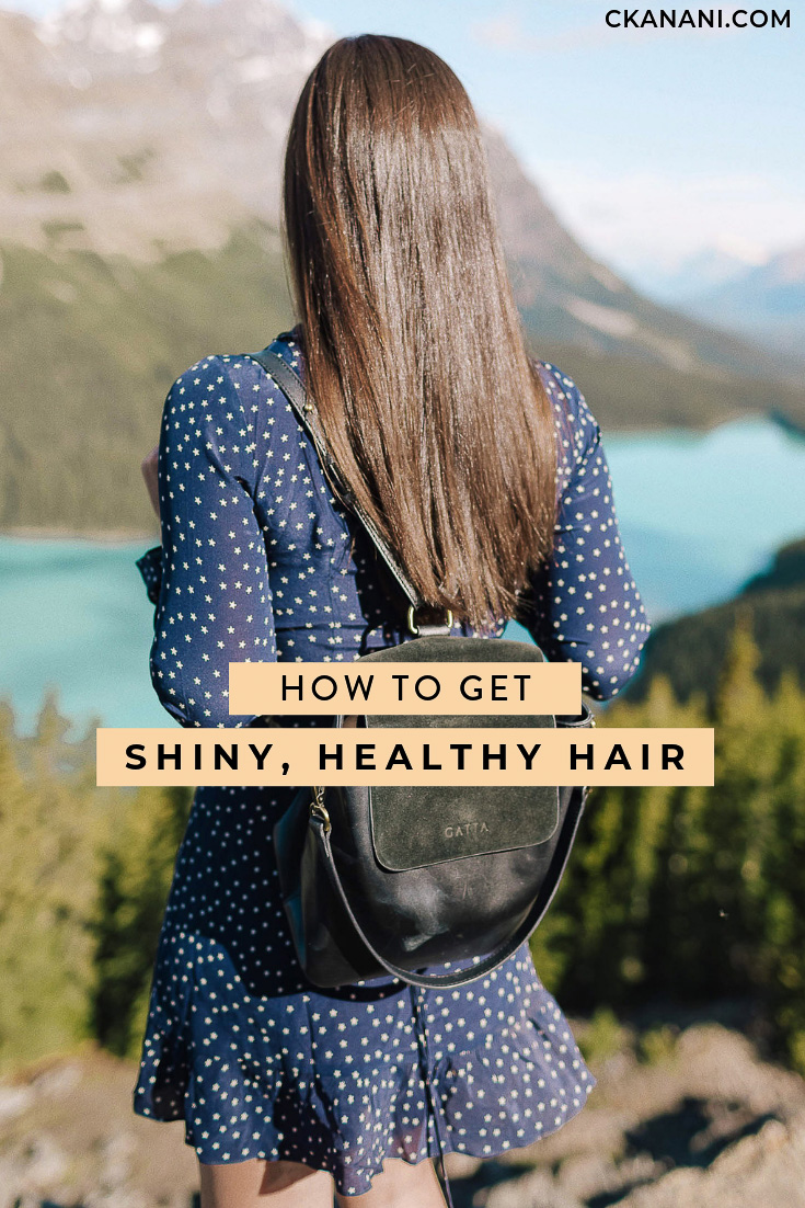 How to get shiny, healthy hair. A guide to the best tips and tricks, tools, and products for flawless, pretty hair! #haircare #hairtips #healthyhair #travel