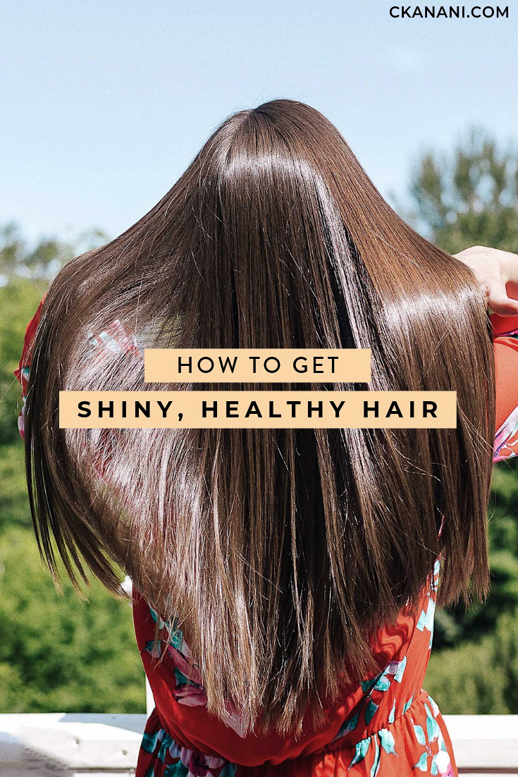 How to get shiny, healthy hair. A guide to the best tips and tricks, tools, and products for flawless, pretty hair! #haircare #hairtips #healthyhair #beauty