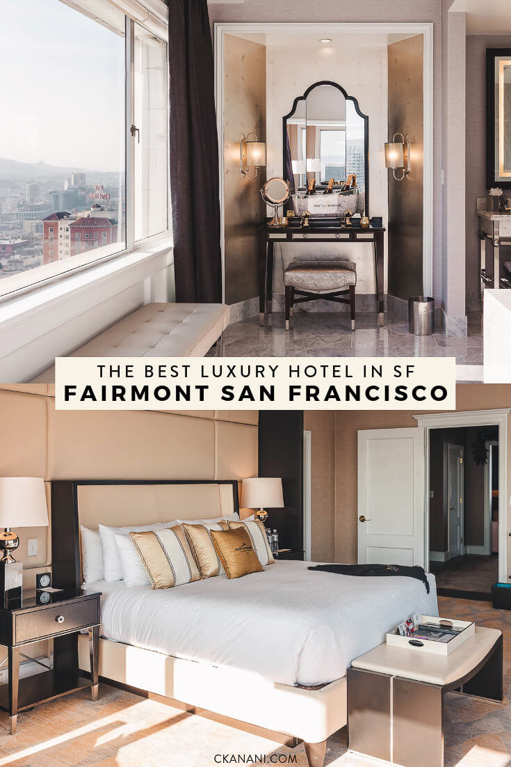 Famous hotels in San Francisco: The Fairmont SF, the best luxury hotel in San Francisco! #sanfrancisco #sf #bayarea #luxuryhotels #fairmontmoments