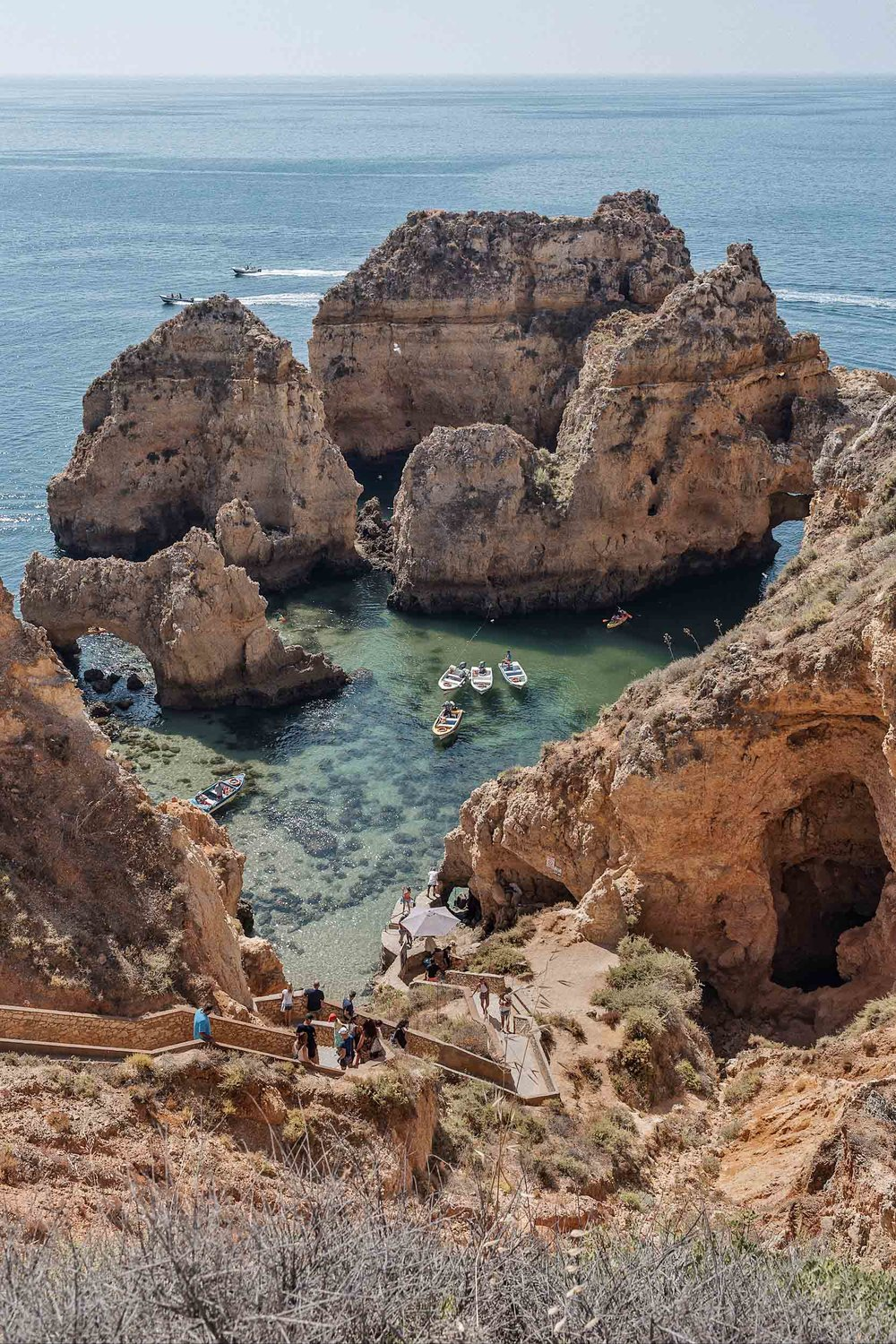 The perfect Portugal itinerary includes a visit to Lagos in the Algarve