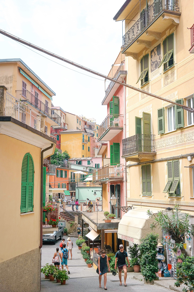 The best week long vacations are in Italy, including Cinque Terre and Florence