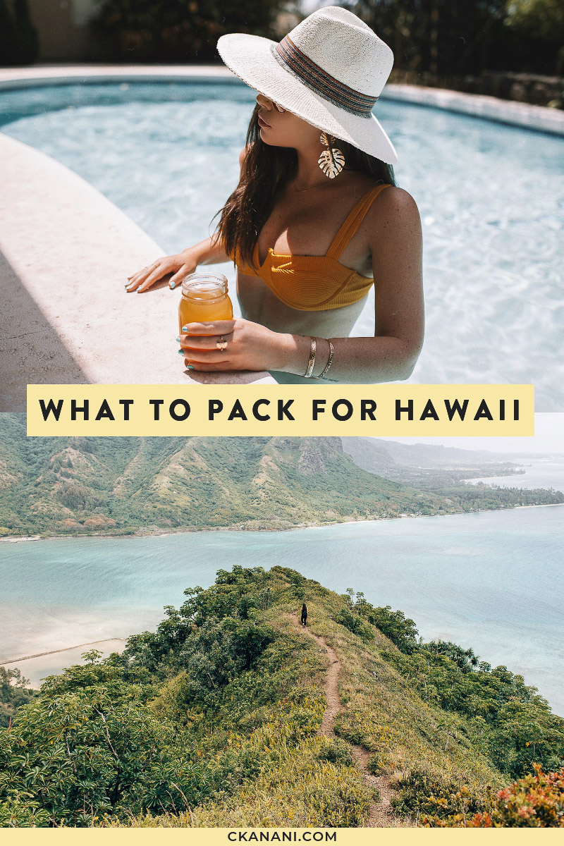 Looking for a Hawaii packing list or wondering what to bring to Hawaii? Here's a full list of what to pack for Hawaii. #hawaii #oahu #packinglist #packingtips #traveltips #maui #kauai