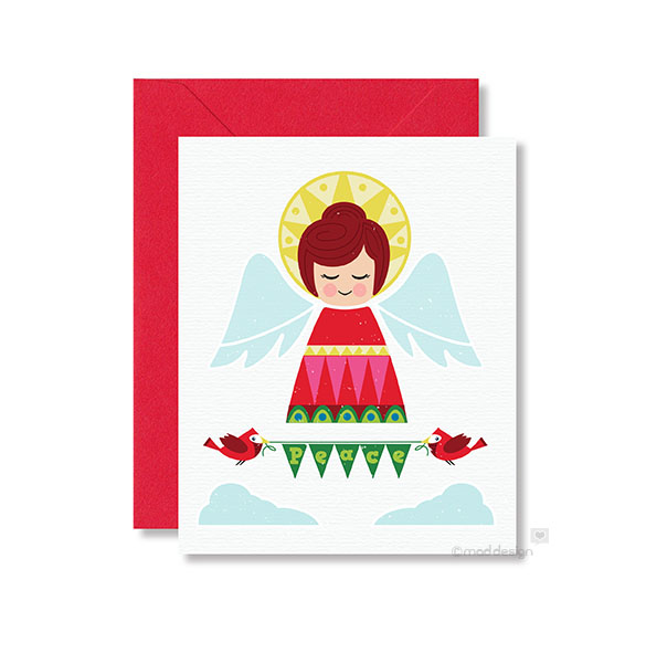 New Peace Angel holiday card