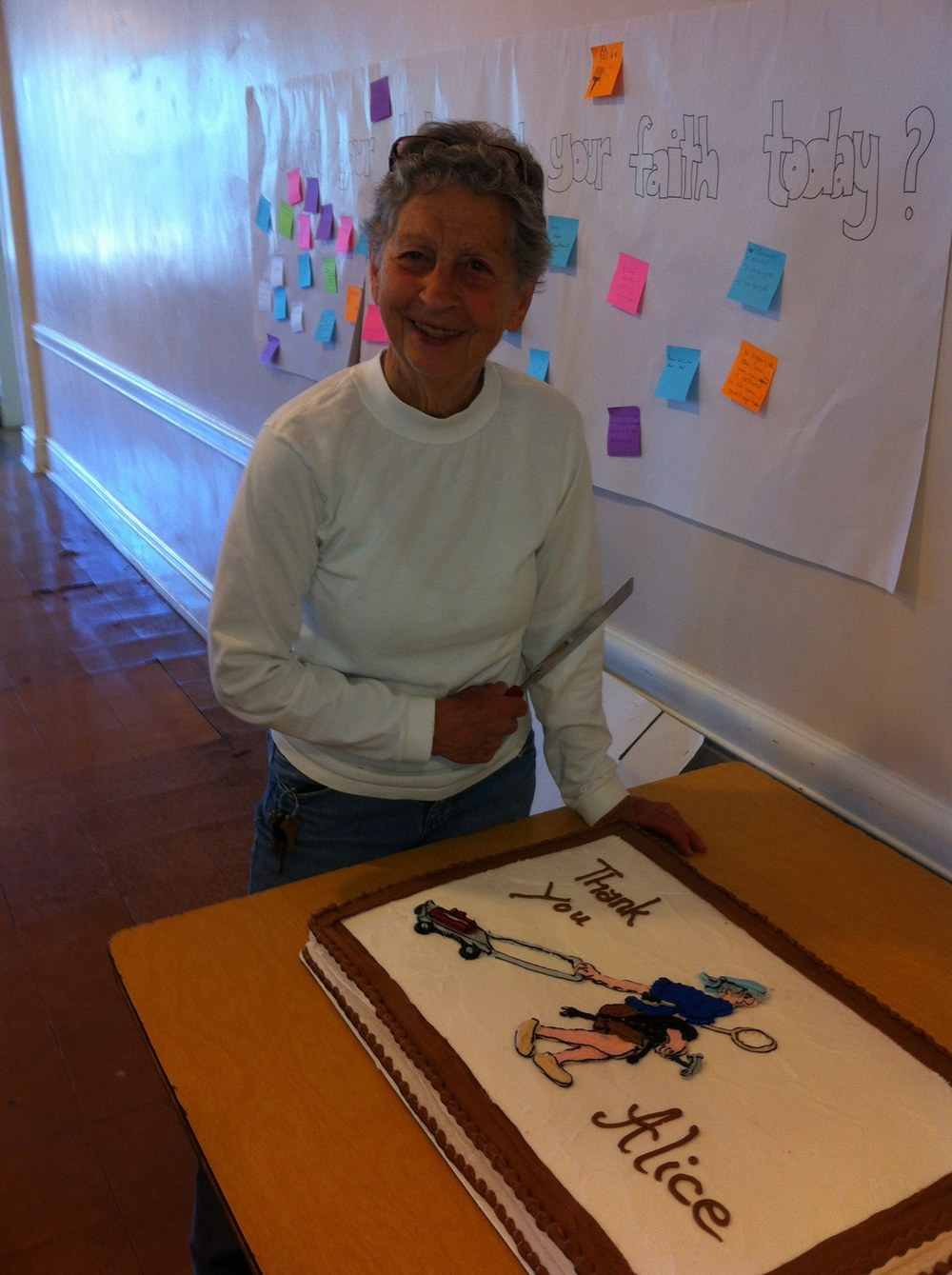 ADAW 2014 Alice Mohr with thank you cake.jpg