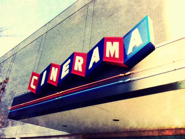Walking around a lot taking photos lately. Rad Cinema style.