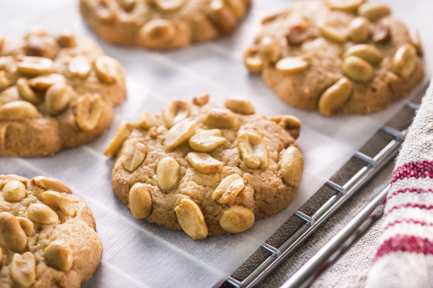 ... : 70% more protein and 70% less carbs, than regular peanut cookies