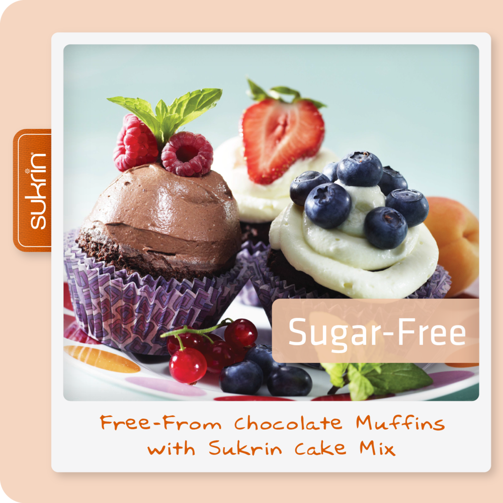 Social media Cake Mix pack2 1071 FREE FROM Chocolate Muffins with Sukrin Cake Mix.png