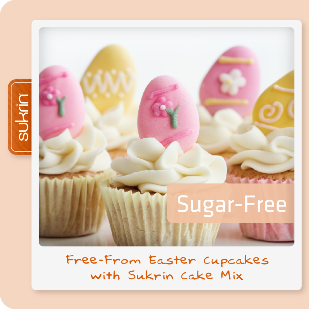 Social media Cake Mix pack3_1114 FREE FROM Easter Cupcakes with Sukrin Cake Mix.png