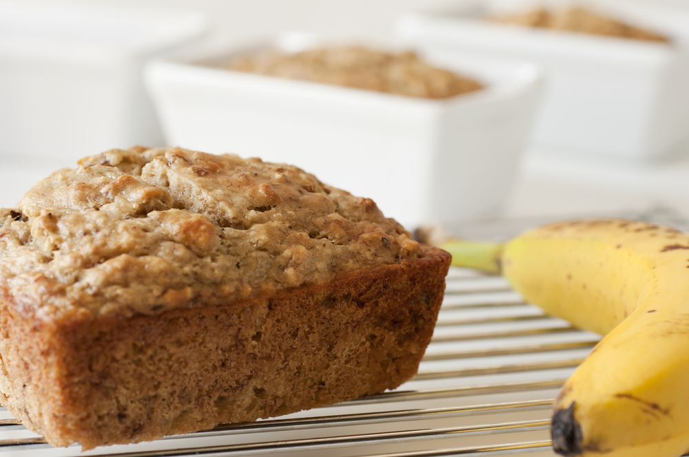 Sugar-Free Banana Bread with Sukrin Almond Flour and Sukrin Gold