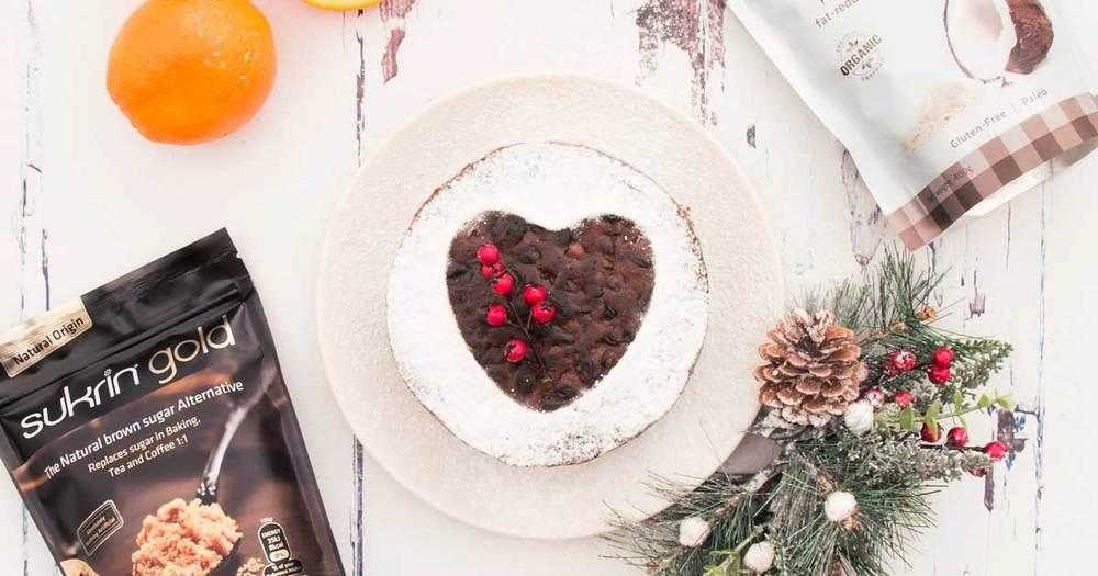 Sukrin Christmas cake.jpg
