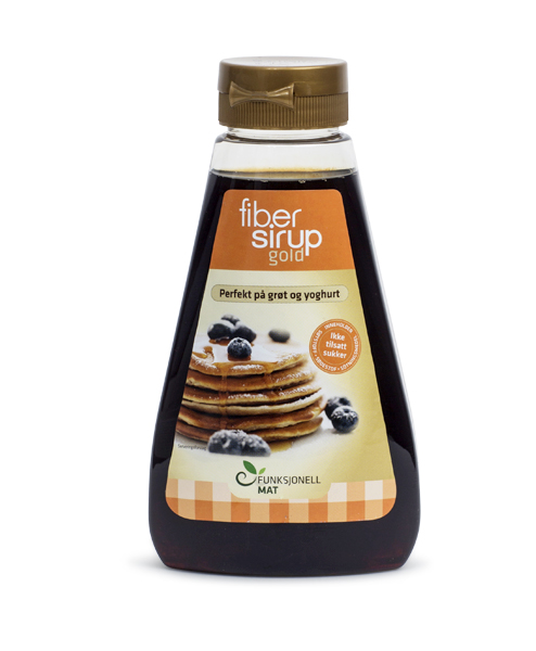 Fibre Syrup Gold Front