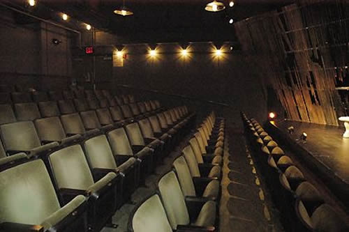 Clurman Theatre Seating Capacity: 99 Stage Dimensions: 34' wide × 19' deep