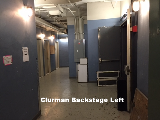Clurman Backstage.JPG
