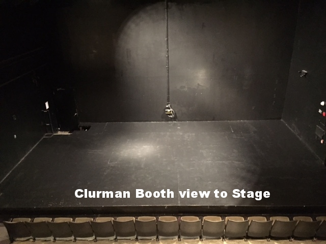 Clurman Booth 2 stage.JPG