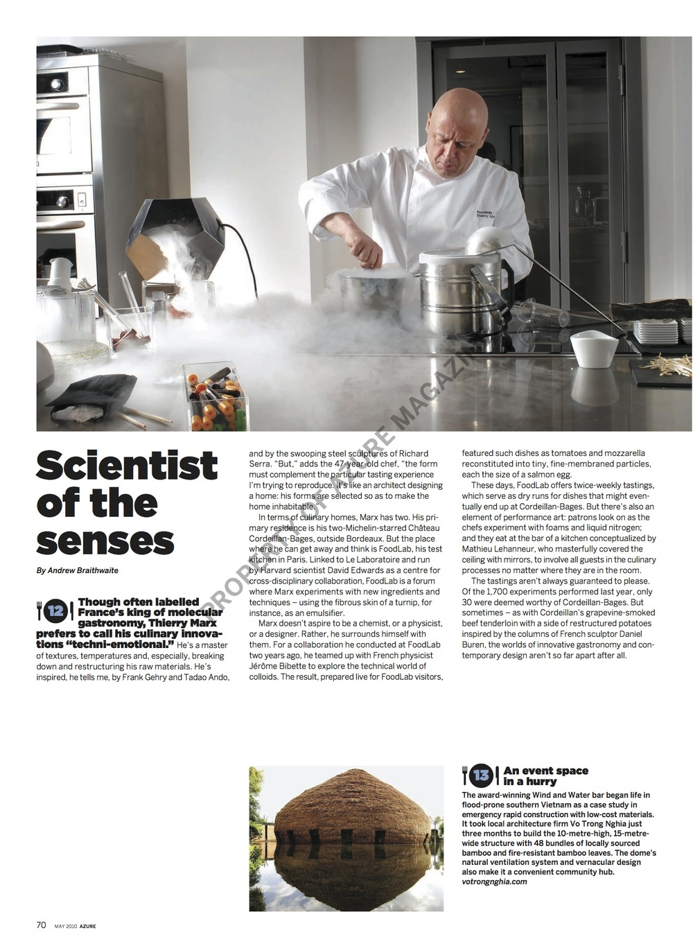 Scientist of the Senses  //  Azure  //  2010  //  pdf