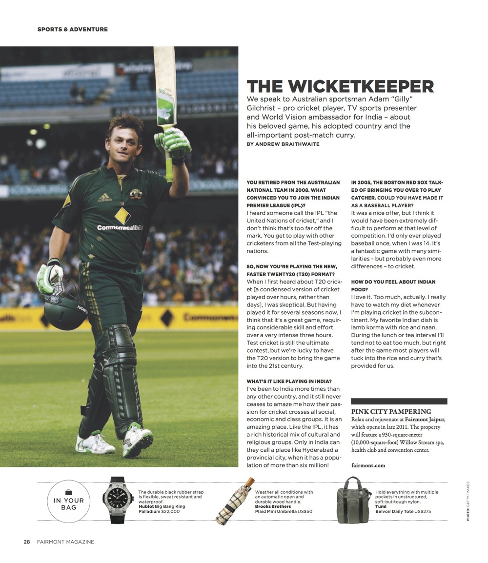 The Wicketkeeper  //  Fairmont  //  2011  //  pdf