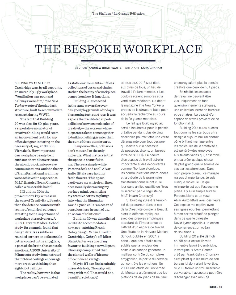 The Bespoke Workplace  //  Block  //  2013  //  pdf
