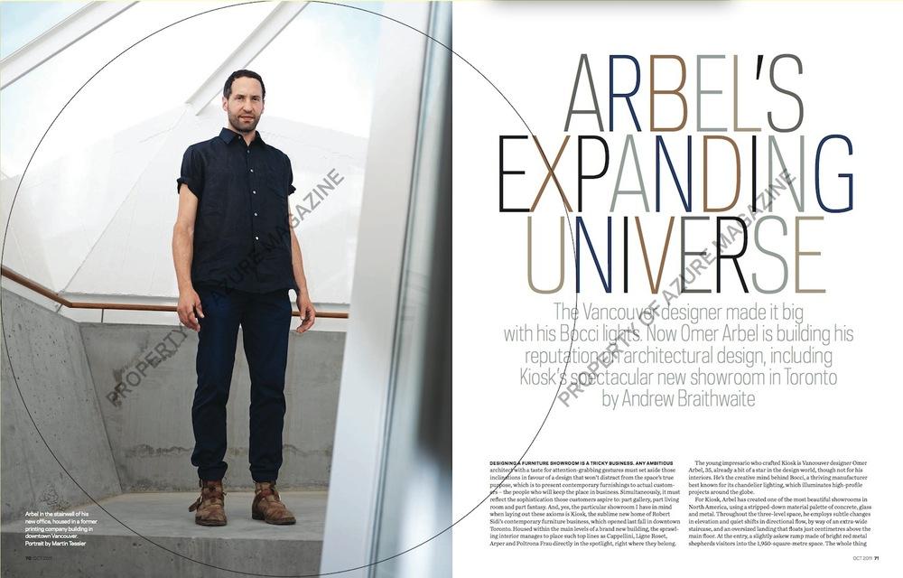Arbel's Expanding Universe // Azure // 2011 // pdf
