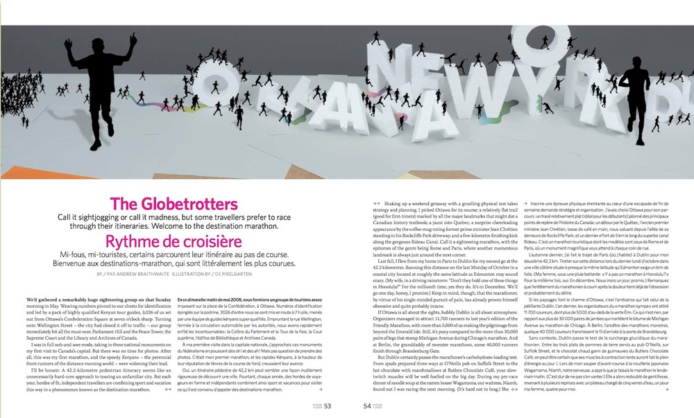 The Globetrotters  //  enRoute  //  2009  //  pdf
