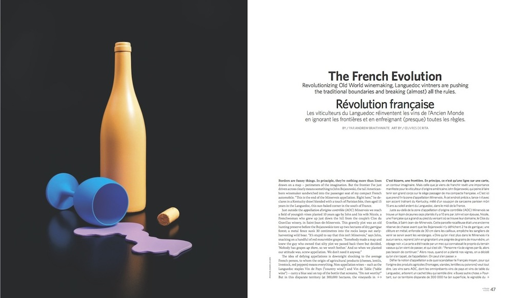 The French Evolution  //  enRoute  //  2010  //  pdf