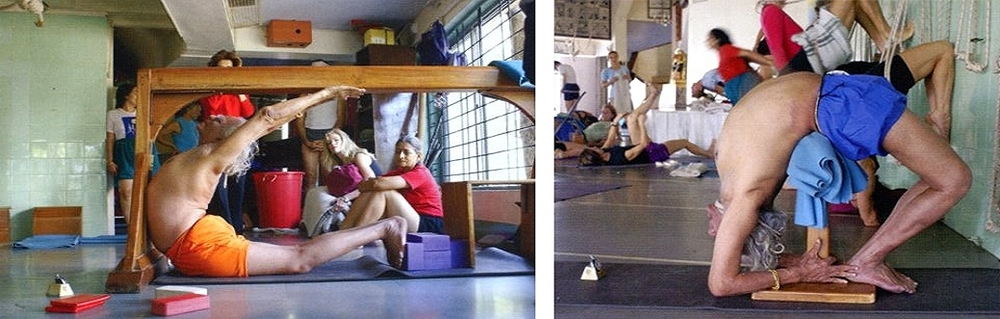 BKS Iyengar's practice reflects his evolution