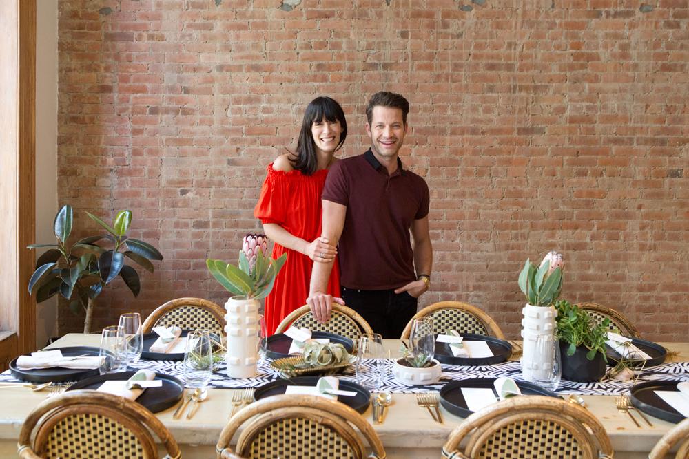 Nate Berkus y Athena Calderone