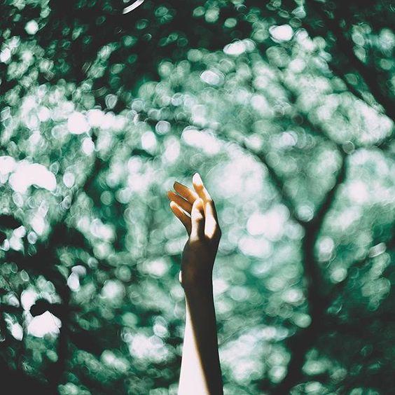 Seamos el cambio que queremos ver en nuestro planeta. - Tiñamos nuestras manos de verde.-Binomio Design