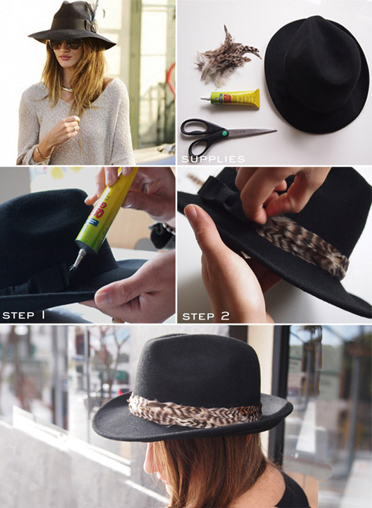diy-feather-fedora