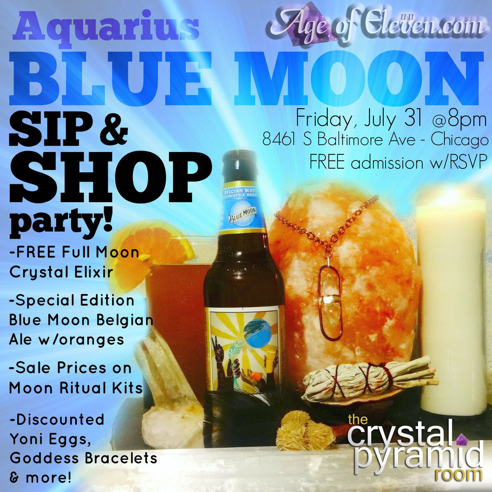 Aquarius Blue Moon Party