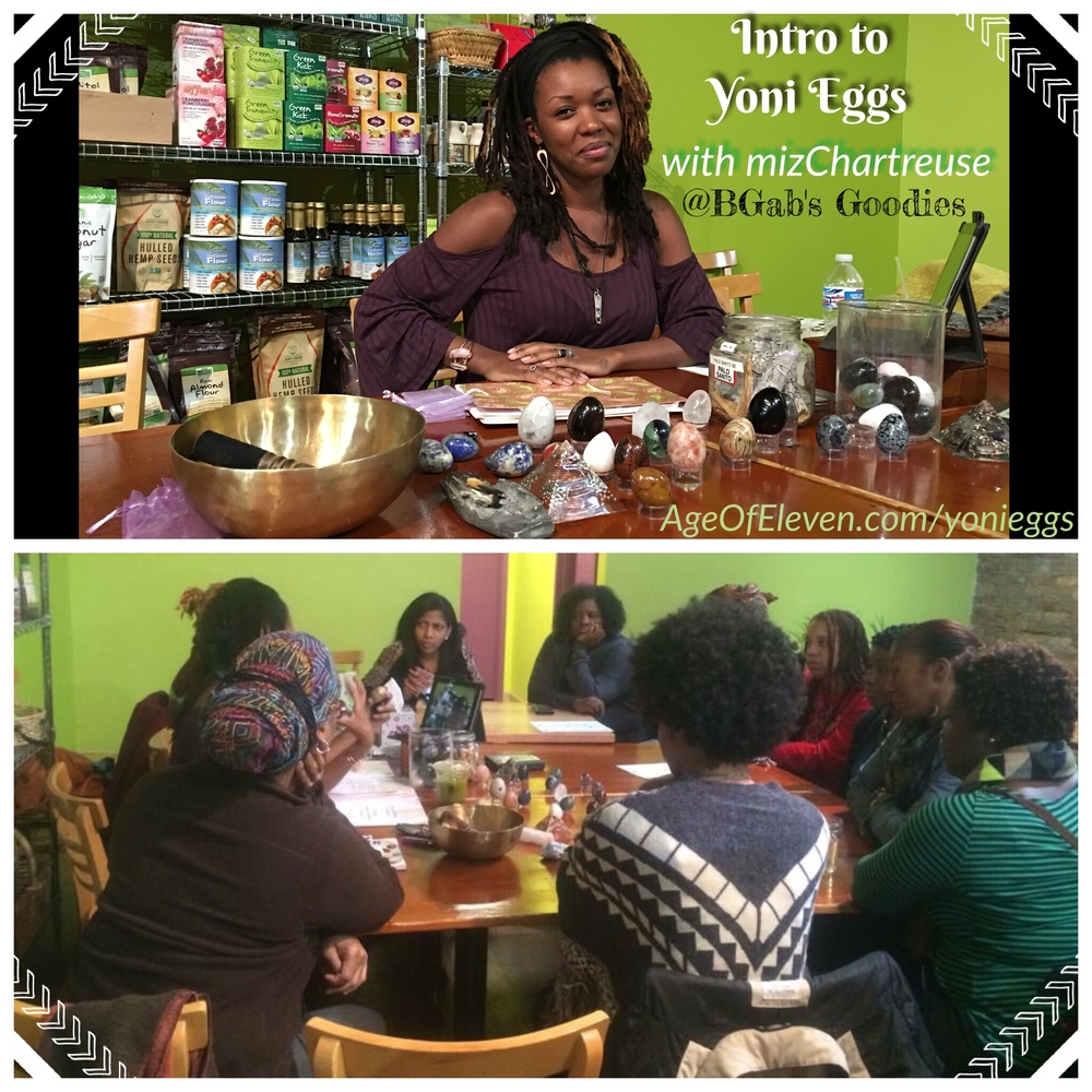 Watch my video about my Intro to Yoni Eggs workshop at B'Gabs Goodies in Hyde Park!