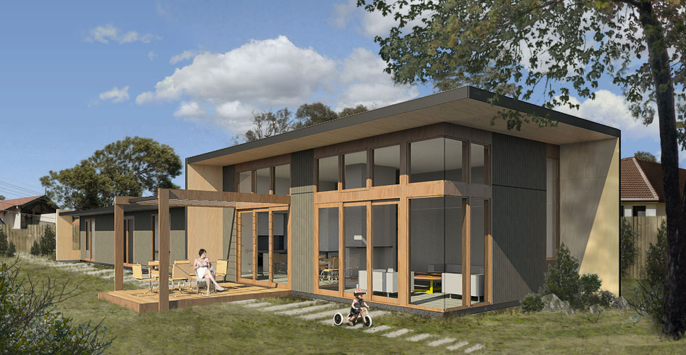 Nimbus house habitech systems australian sustainable - Cost of solar panels for 3 bedroom house ...