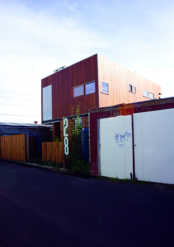 Habitech's Design Manager Viv Faithfull's place in Seddon, inner west Melbourne